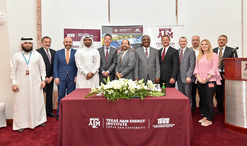 a16ecb75b6b52 Texas A M at Qatar Gas and Fuels Research Center celebrates MOU with ...